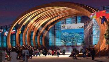 BC Canada Pavilion, Beijing, China